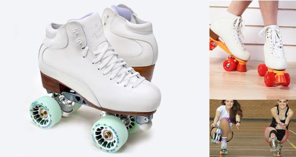 Patines y ruedas para realizar dicha actividad sobre nuestros pisos deportivos