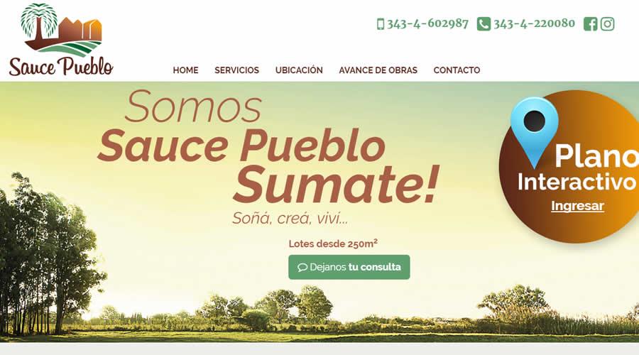 Loteo Sauce Pueblo